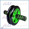 AB abdominal waist workout exercise gym fitness wheel roller wheels & knee pad